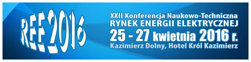 XXI KONFERENCJA RYNEK  ENERGII  ELEKTRYCZNEJ